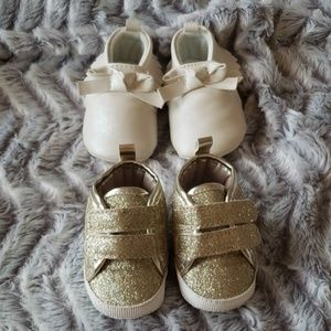 Carter's & Baby B'Gosh 2 pair Shoe Bundle